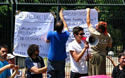 Así fue la primera asamblea del 15-M en Hortaleza
