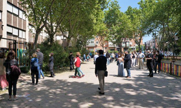 Así está siendo la jornada electoral en Hortaleza