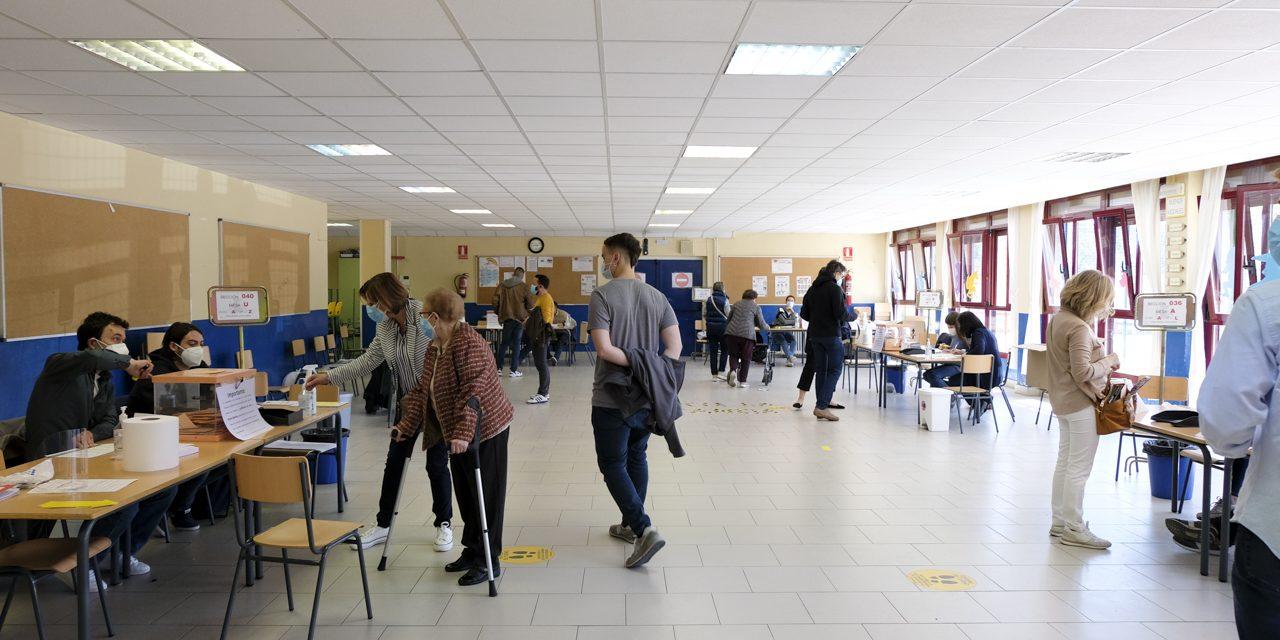 El PP gana las elecciones autonómicas en Hortaleza