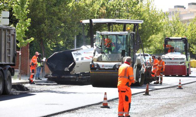 Operación asfalto: estas son las calles que se renovarán en Hortaleza