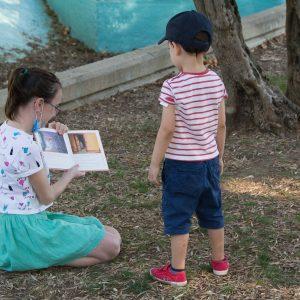 ¡En San Juan, cuentos al parque!