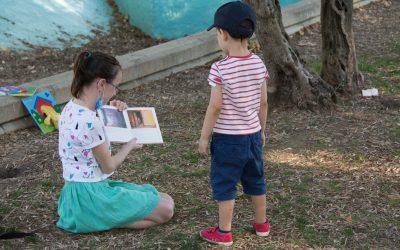 En San Juan, cuentos al parque