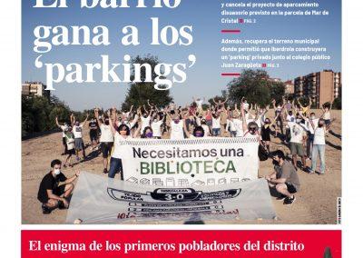 Nuevo número de Hortaleza Periódico Vecinal