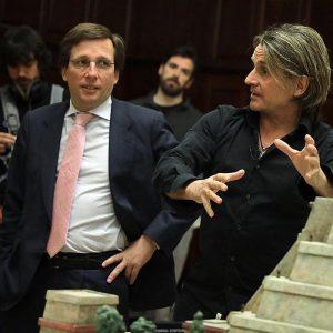 Nacho Cano obtuvo la cesión en Hortaleza a pesar de confesar sus dudas sobre la viabilidad del proyecto