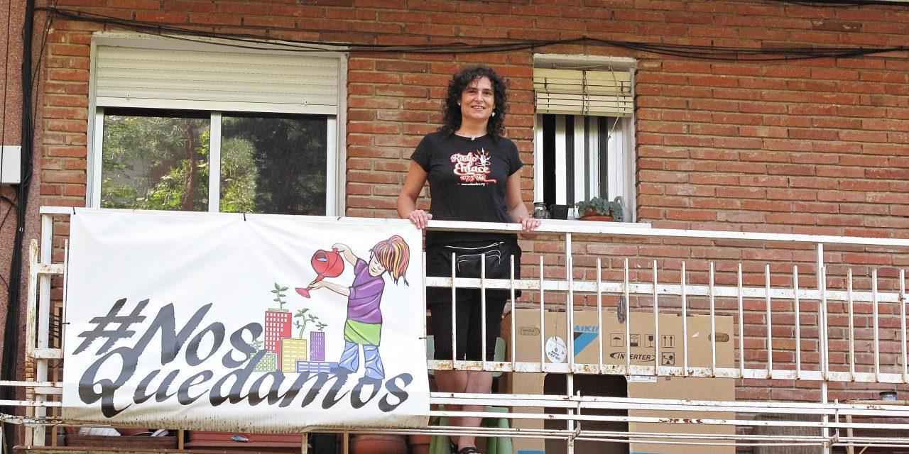 Raquel quiere quedarse en su casa