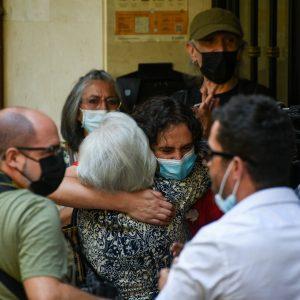 Hortaleza se vuelca en defensa de Raquel