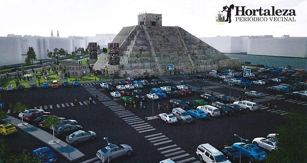Una pirámide azteca con teatro y parking: así es el proyecto de Nacho Cano en Hortaleza